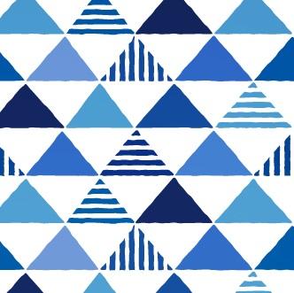 三角の柄の着物は通年に着よう