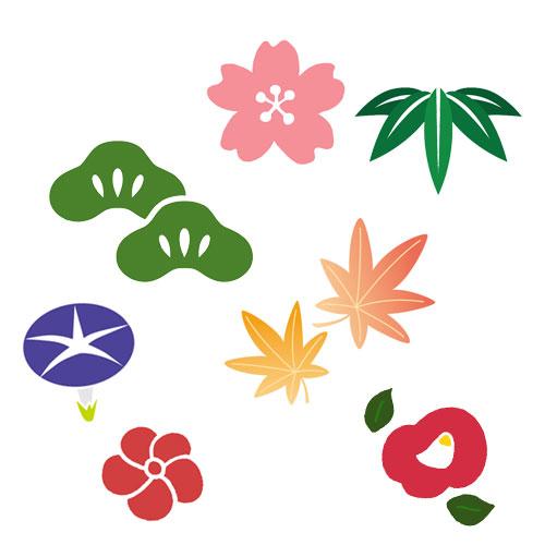 四季草花(しきくさばな)柄の着物は通年に着よう