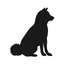 犬の着物の柄の画像