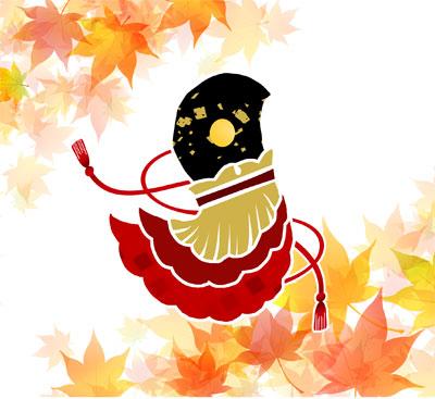 源氏物語・紅葉の賀の着物の柄の画像