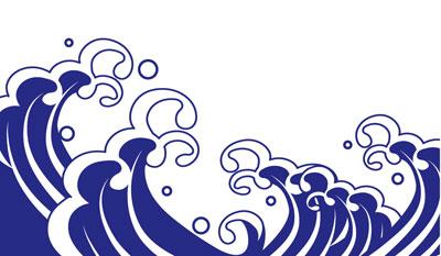 波頭の画像
