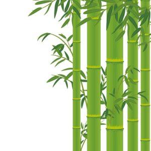 竹の着物の柄の画像