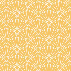 菊青海波の着物の柄の画像