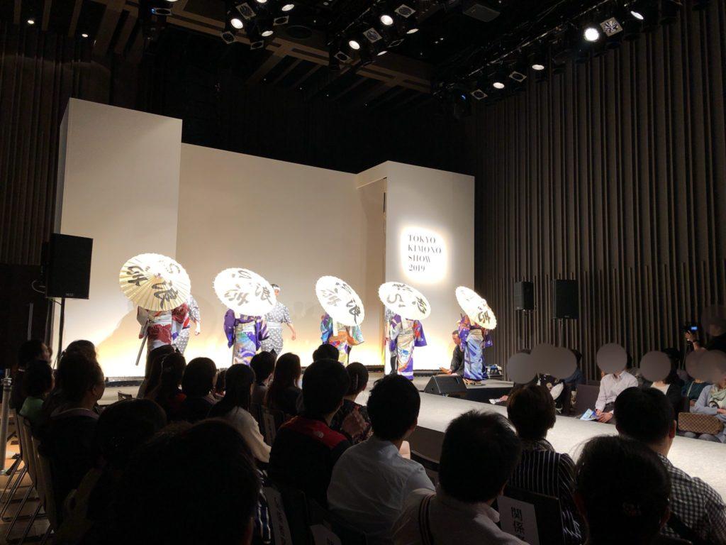 東京キモノショー2019の舞台