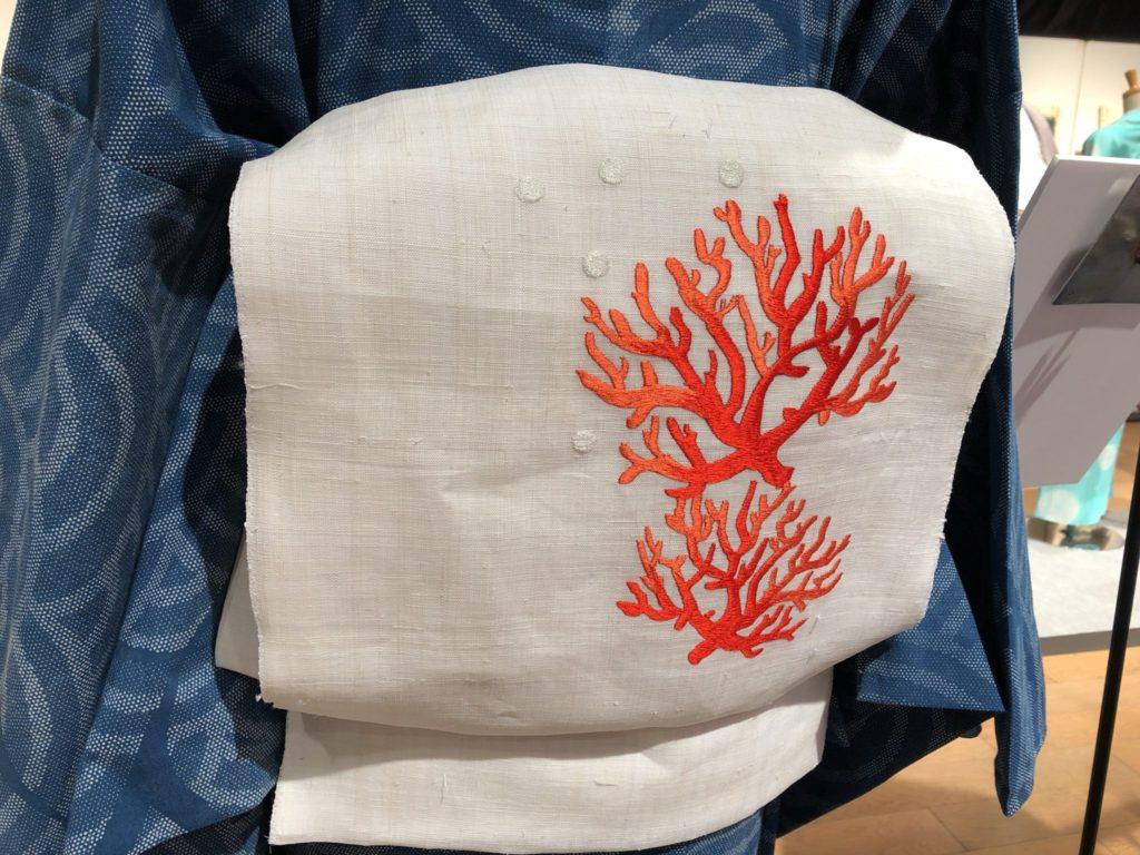 東京キモノショー2019の着物と帯