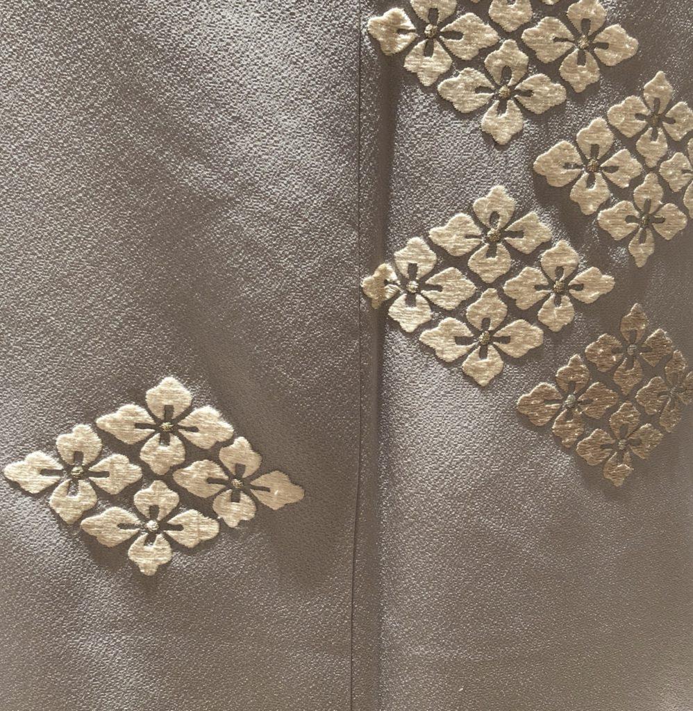 花菱柄の着物